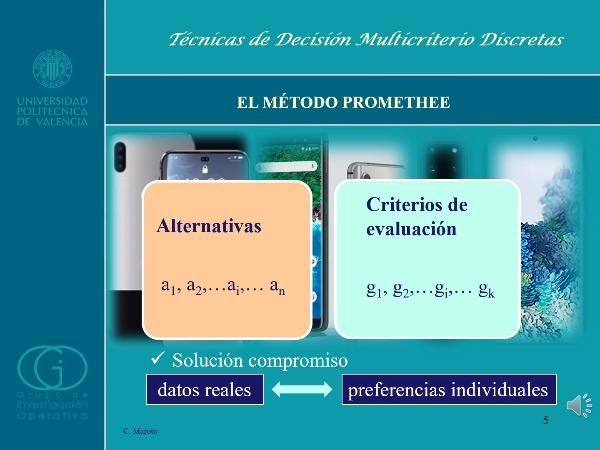 Técnica multicriterio PROMETHEE