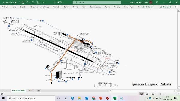 Aclaraciones canalizaciones media tensión aeropuerto Manises