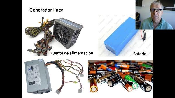 Generadores y receptores de corriente continua