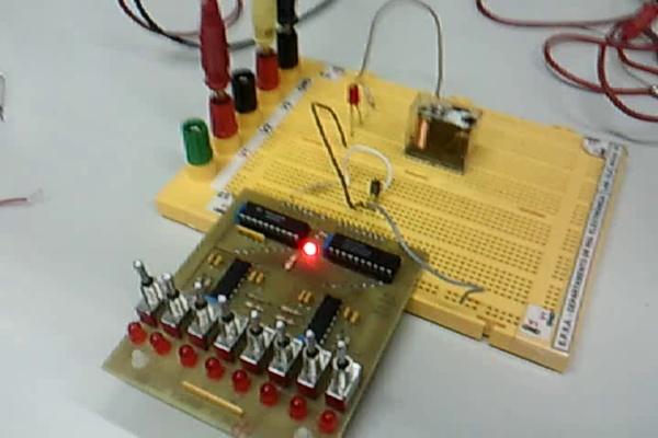 Montaje 4.1 - Transistor BJT en corte y saturación