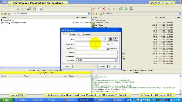 Simulación Mecanismo a_c_0683 con Mechanica - 01 de 19