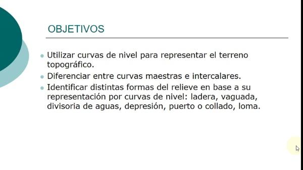 Sistema de planos acotados. Representación del relieve. Generalidades.