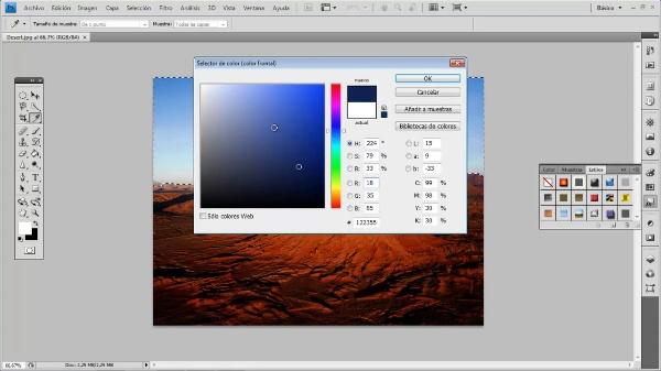 Photoshop CS4. Bote de pintura