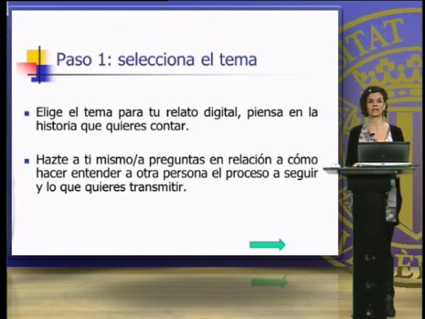 Pasos a seguir para la creación de un relato digital