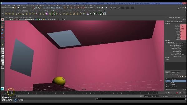 Crear y animar cámaras desde el visor de Maya Autodesk
