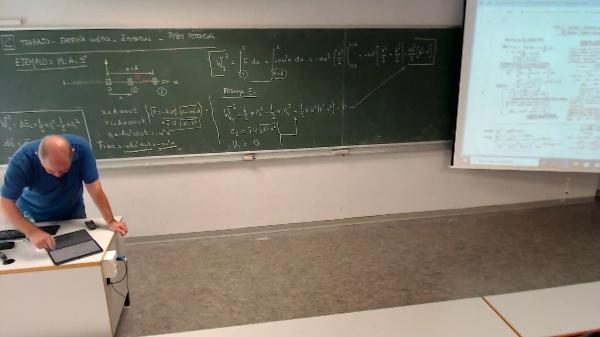 Física 1. Lección 2. Ejemplo MAS Trabajo y energía cinética