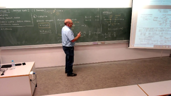 Física 1. Lección 2 Aceleración