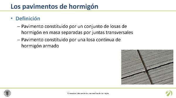 Conceptos básicos de pavimentos de hormigón