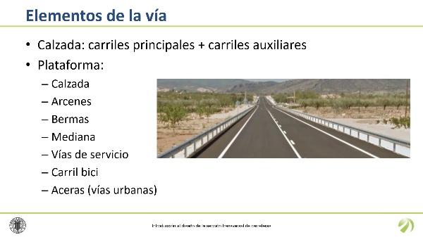 Introducción al diseño de la sección transversal de carreteras