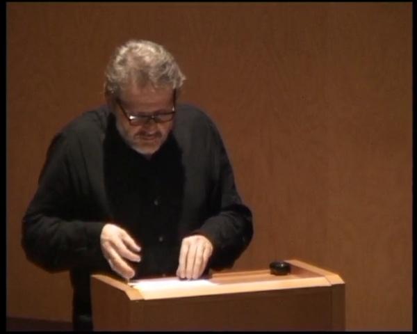 Conferencia Ton Salvadó: El tiempo de digestión según Shadrach Woods (2012-09-27) parte 1/2