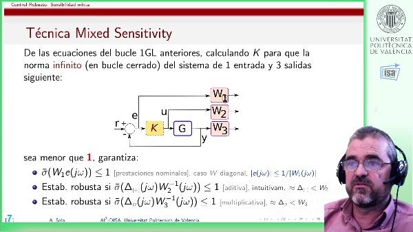 sensibilidad mixta (discusión): formas de establecer cotas de error W2, W3