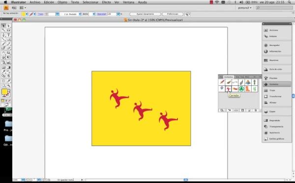 Adobe Illustrator herramienta símbolo parte2
