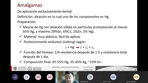 Clase de Biomateriales Estructurales: Otros metales II