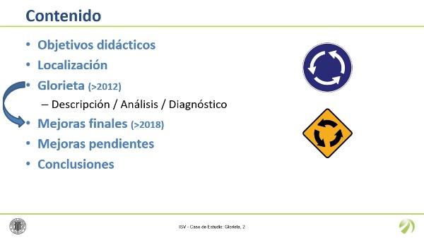 Inspección de Seguridad Vial - Caso de Estudio: Glorieta