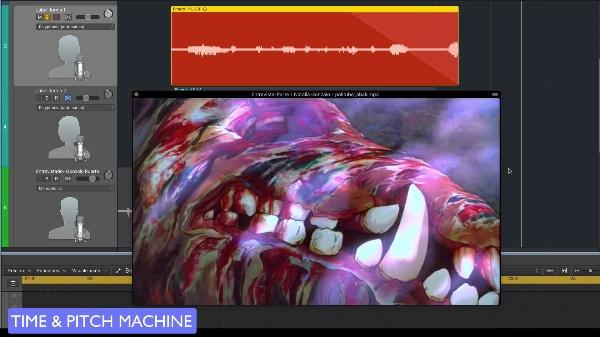 Sonido Diegético P1 - Procesamiento de la voz - Voz grave Jabalí