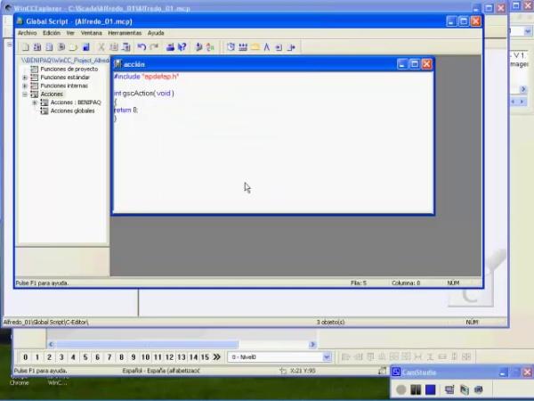 Creación de Scripts en Lenguaje C