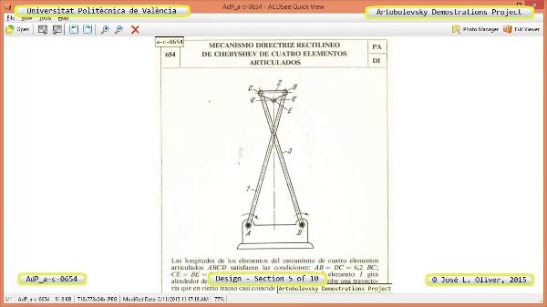 Creación Virtual Mecanismo a-c-0654 con Solidworks - 05 de 10