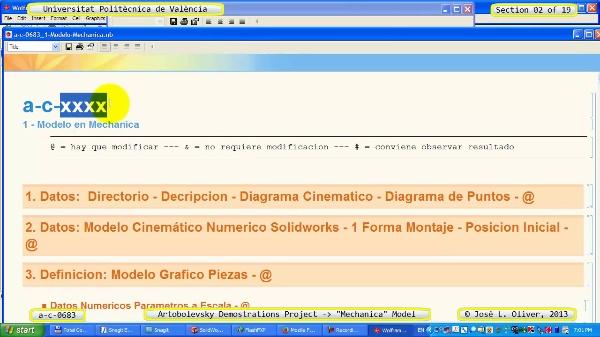 Simulación Mecanismo a_c_0683 con Mechanica - 02 de 19