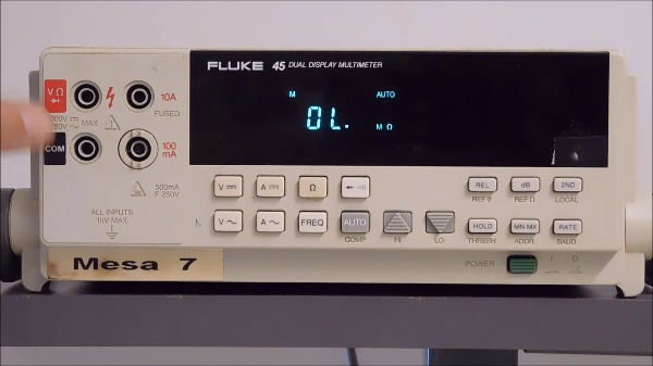 Multímetro Fluke 45