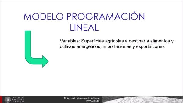 Optimización del uso del suelo agrícola