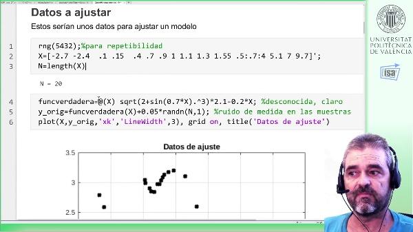 Optimización de hiperparámetros de un kernel (covarianza) para regresión