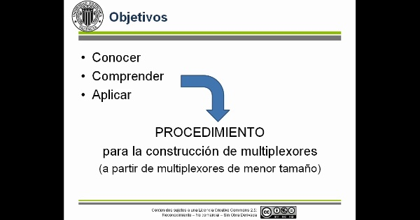 Composición de multiplexores. Ejemplo