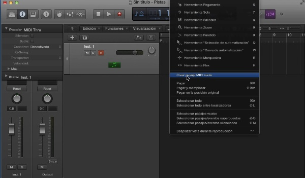 Tutorial Logic X 6.2 Editor de partitura
