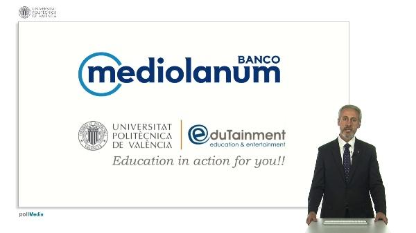 Presentación Cursos Mediolanum UPV