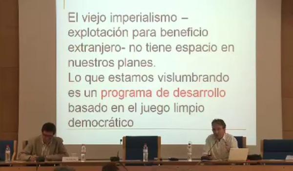 José María Tortosa - Los desafíos del desarrollo en el siglo XXI - parte 1 de 4