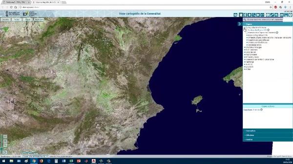 Cómo obtener un plano de perfil del terreno desde la cartografía online