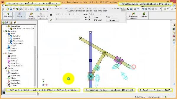 Simulación Mecanismos a-4-1553-0963-1136 con Cosmos Motion - 10 de 10