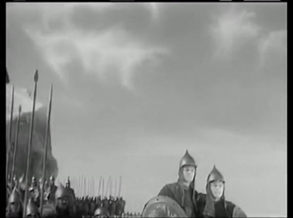 Alexandr Nevskii Batalla sobre hielo