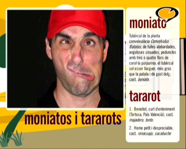 Moniatos i tararots