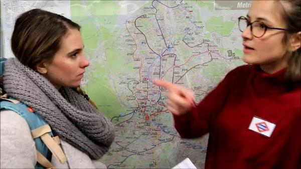 MOOC español para viajeros. Llegamos a nuestro destino, en el metro