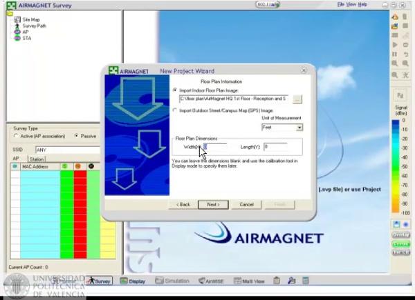 Airmagnet Survey