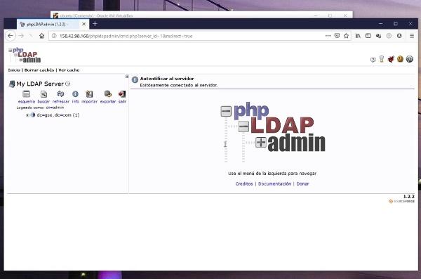 Accesos LDAP