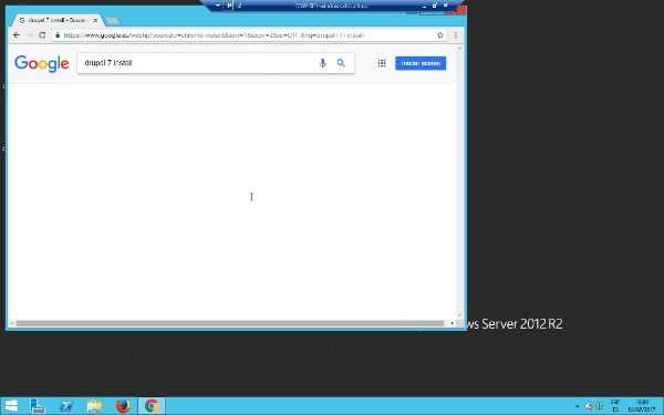 Instal·lació de Drupal 7 en un entorn Windows con XAMPP