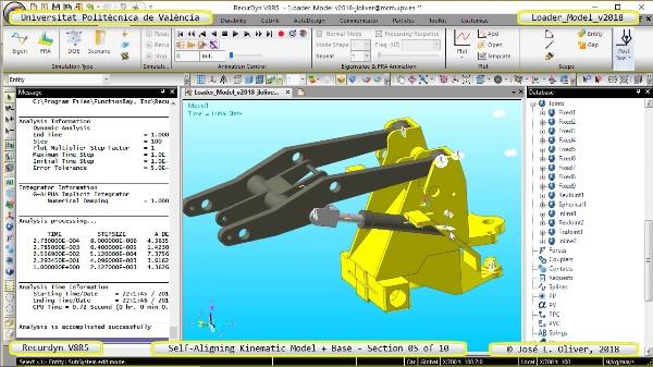 Simulación Dinámica de Cargadora Volvo L70C con Recurdyn V8R5 - 05 de 10