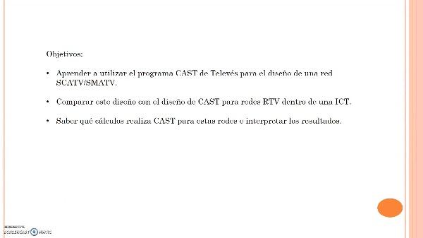 Redes SCATV/SMATV con CAST