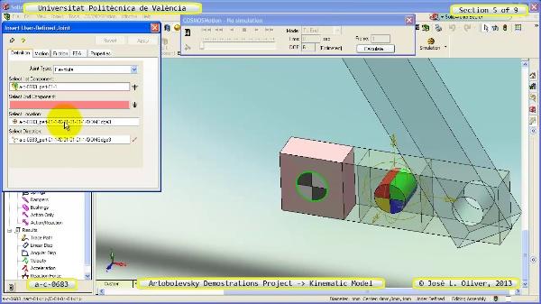 Simulación Mecanismo a_c_0683 con Cosmos Motion - 5 de 9