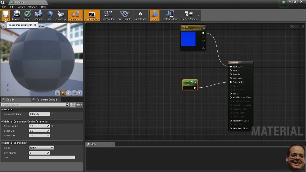 Unreal Engine - Texturas brillantes, importar de blender static mesh