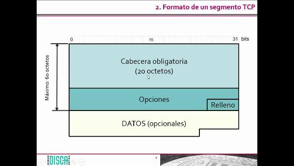 El formato de los segmentos TCP