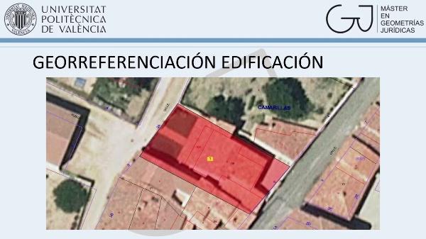 Georreferenciación edificación