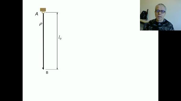 Elasticidad: deformación por el propio peso C