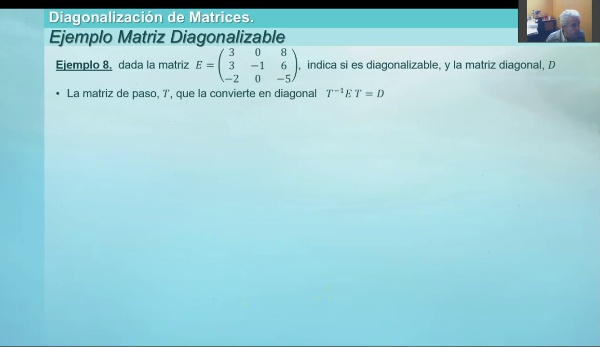 M1-ELE-66 Diagonalizacion ejemplo 7