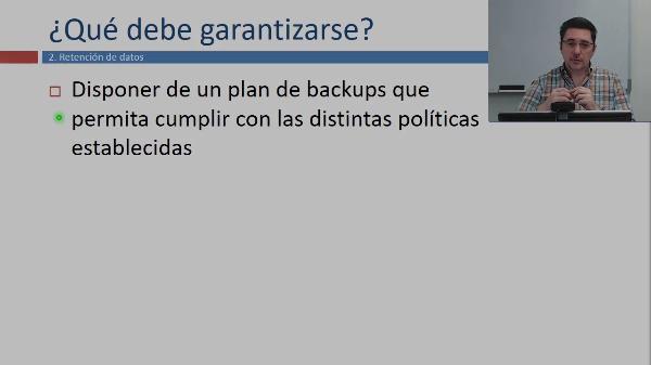Objetivos de los backups