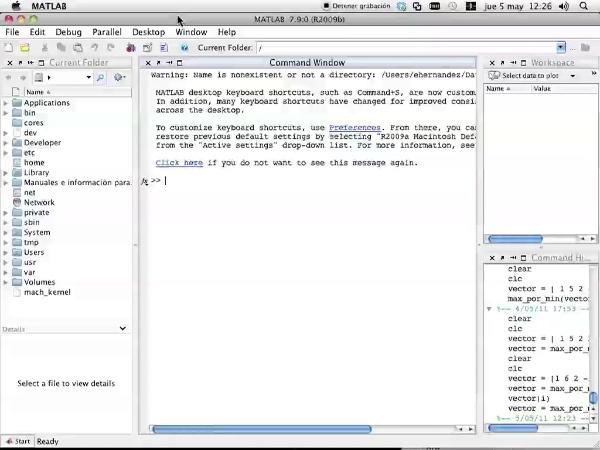 Webinario errores más comunes en Matlab
