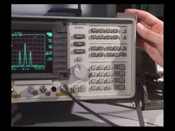Analizador HP 8590L