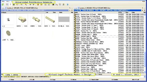 Creación Virtual Modelo Lego Technic - Isogawa - T-0098 ¿ no audio