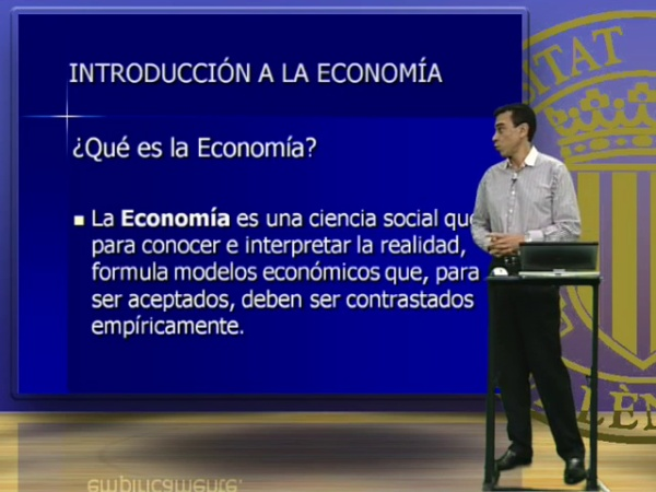 INTRODUCCIÓN A LA ECONOMÍA 2 (1º CURSO)